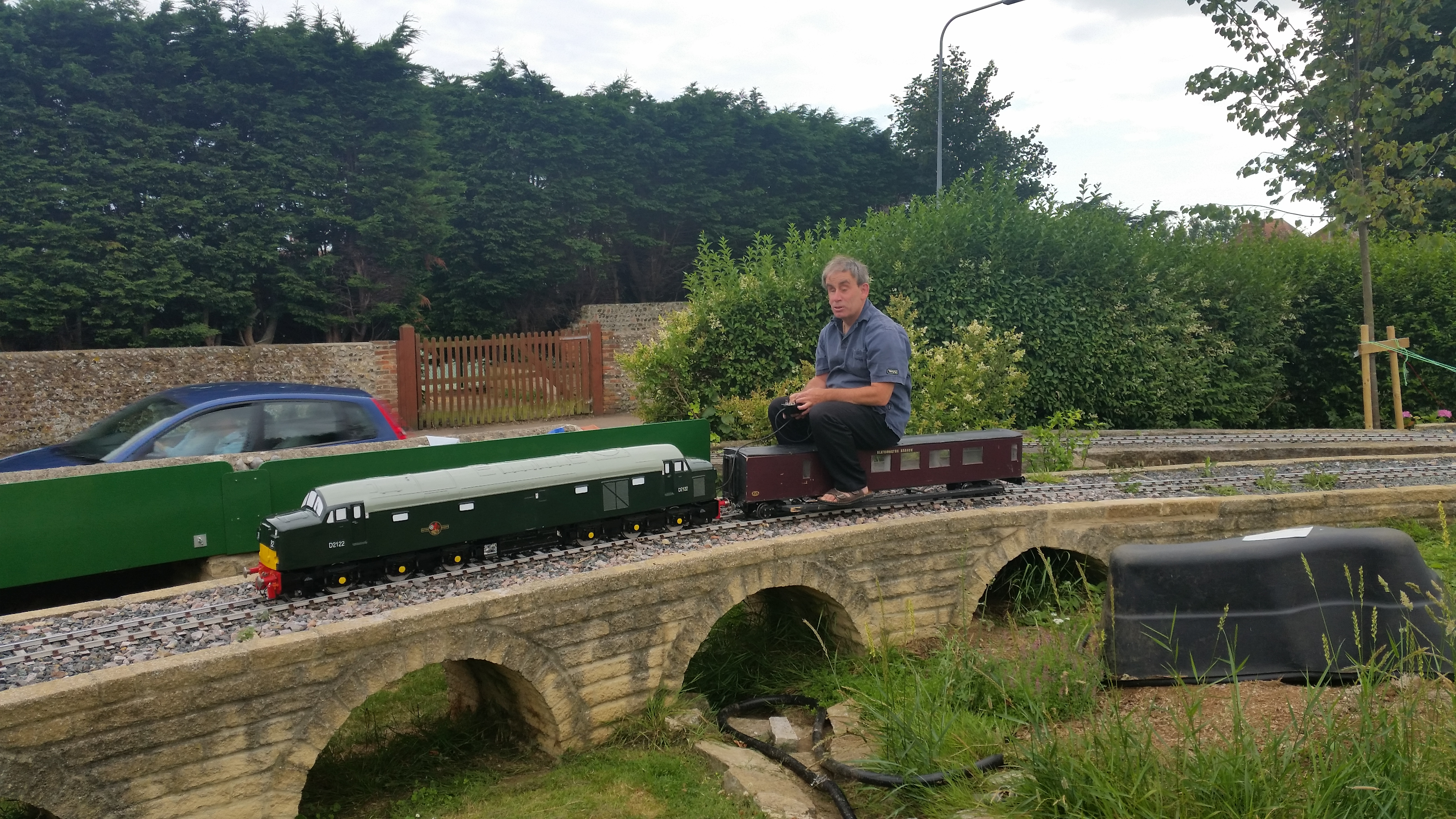 The Blatchington branch garden railway - Locomotives